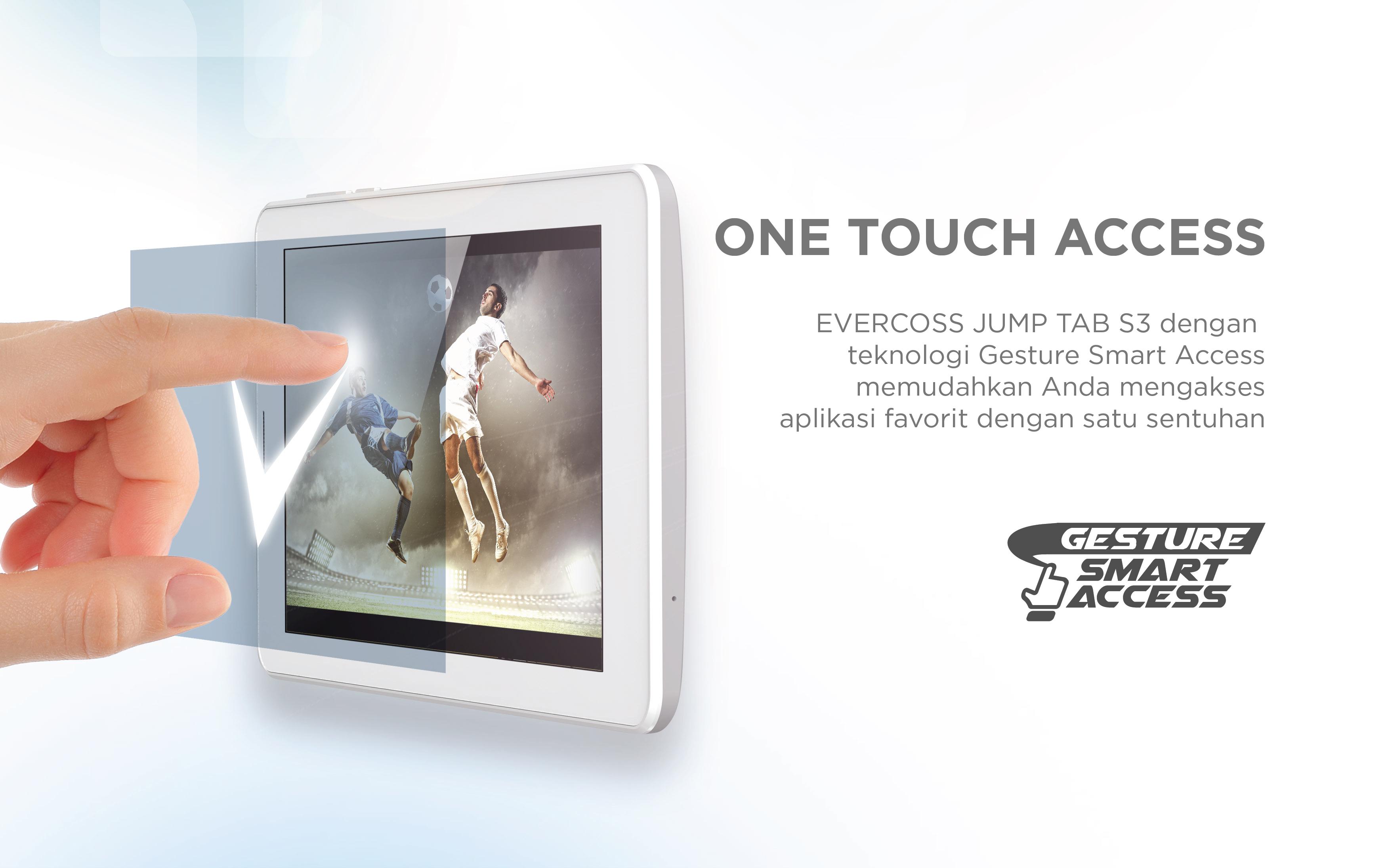 Fitur Evercoss Jump Tab S3