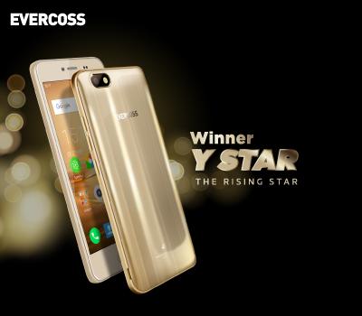 Fitur Evercoss WINNER Y STAR